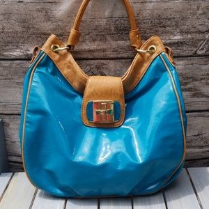 💙MARC FISHER BLUE TOTE SHOULDER BAG
